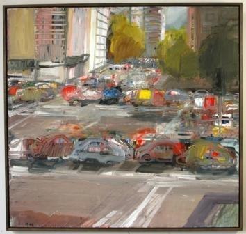"1012A: BOKOR, John ""The Intersection,"" 2000."