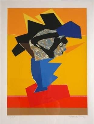 LEACH-JONES, Alun (b.1937) Abstract