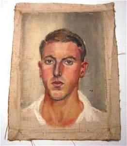 1174A: JULIUS, Rex (1914-1944) (Attrib.) Self Portrait