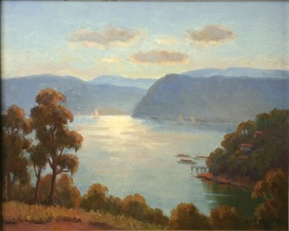 1300A: LANGKER, Erik (1898-1982) View Over the Bay