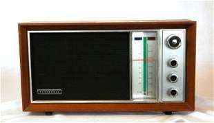 PANASONIC Timber Cased Mantel Radio. Circa 1960's.