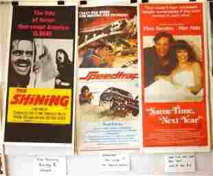 9 Movie Daybills. 'The Shining,' 'Rocky II,' 'Shane