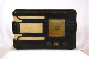 AIRZONE c.1930's Brown Bakelite Mini Radio
