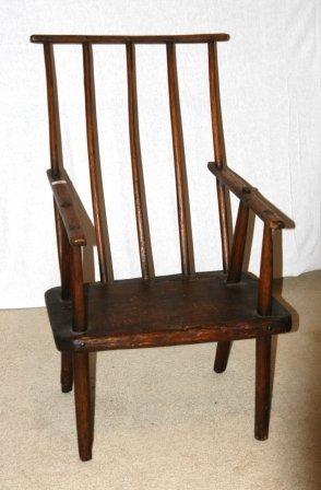 96: Tasmanian Hardwood 'Jimmy Possum' Chair. With origi