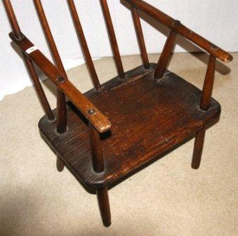 96: Tasmanian Hardwood 'Jimmy Possum' Chair. With origi - 3