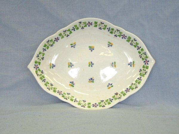 1013:  Derby Diamond Shape Dish c.1800. Angouleme Sprig