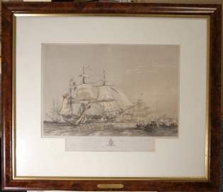 """1811: After BRIELY, Oswald (1817-1894) """"Sydney Harbour,"""