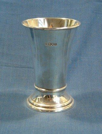 19: HMSS Waisted Vase. London 1908. Maker Thomas, New B