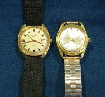 116: 2 Waltham Gents Wrist Watches. Automatic 25 jewels