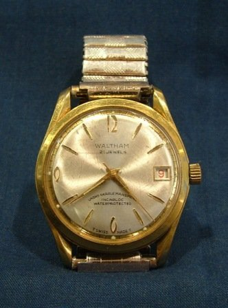 116: 2 Waltham Gents Wrist Watches. Automatic 25 jewels - 2
