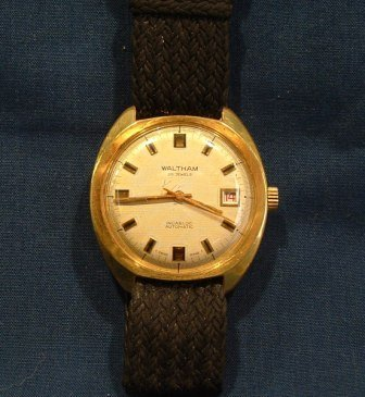 116: 2 Waltham Gents Wrist Watches. Automatic 25 jewels - 3