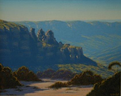 1014: GERCKEN, Graham  Morning Light, Three Sisters, Ka