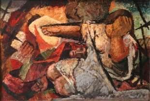 McCLINTOCK, Herbert (1906-1985) Woman Weeping in