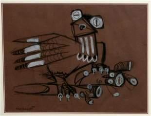 HODGKINSON, Frank (1919-2001) Stylised Bird Cha