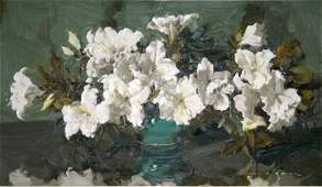 1037B: BAKER, Alan Douglas (1914-1987) White Azaleas