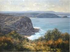 1077: SEALY, Kasey (b.1961) 'Blue Hues of the Coast, A