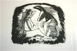 1305: BLACKMAN, Charles (b.1928) Titania and Bottom.