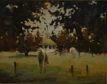 1349: CARROLL, Patrick (b.1949) Strolling Through The