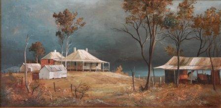 """1009: CULLEN, Stewart McKenzie (b.1949)  """"Evening Shado"""