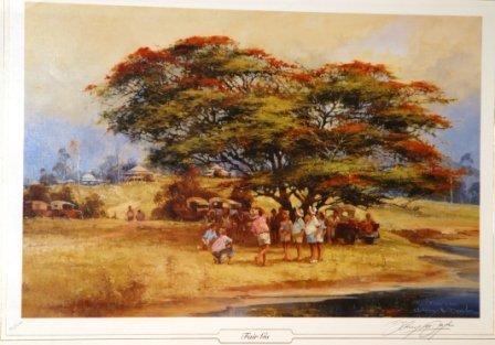 1011: DOYLE, D'Arcy (1932-2001)  'Fair Go'  Ltd Ed Prin