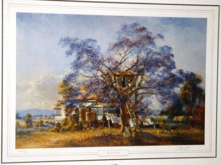 1012: DOYLE, D'Arcy (1932-2001)  'The Tree House'  Ltd