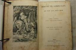 """1170: Book: 1st Ed. """"Through The Looking Glass, & Wh"""