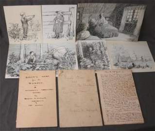 1254: Hudspeth family (Tasmania) Memorabilia. Inc. 3 ha