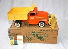 1315: Tonka No.406 Dump [Truck] with Scraper. In origin