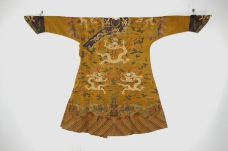 8:   Early Yellow Kesi 'Twelve Symbol' Imperial Court R
