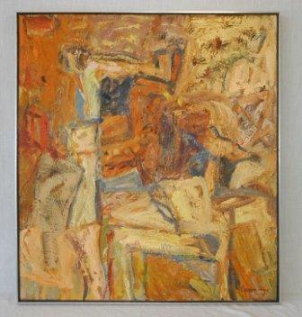 "1006: CUMMINGS, Elisabeth (b.1934)  ""The Armchair,"" 198"