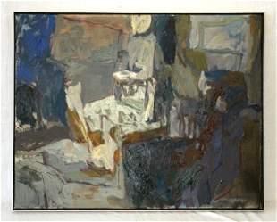 "CUMMINGS, Elisabeth (b.1934) ""Evening Verandah,"""