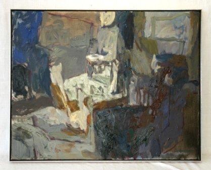 "1007: CUMMINGS, Elisabeth (b.1934)  ""Evening Verandah,"""