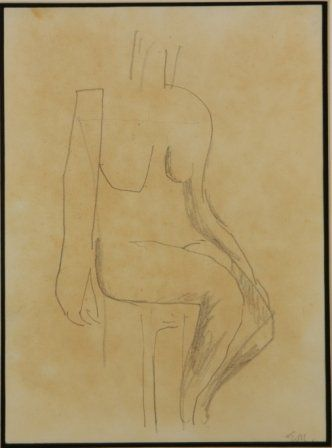 MILLER, Godfrey (1893-1964) (2) Figure Studies.