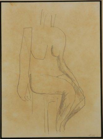 1009: MILLER, Godfrey (1893-1964) (2)  Figure Studies.