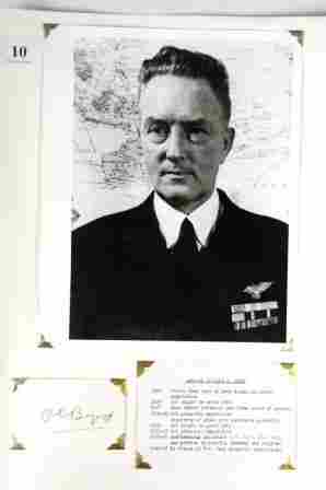 Admiral Richard BYRD - Aviator & Polar Explorer. B