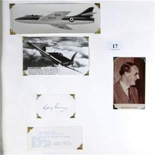 Sir Sydney CAMM - WWII Aircraft Designer. Chief en