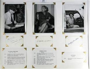 3 Pioneer Aviators. Sir Patrick TAYLOR black ink o