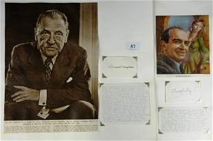 Christopher FRY & W.Somerset MAUGHAM - Dramatist &