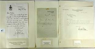13 Autographs - Scientists, Engineers Inc. LODGE, P