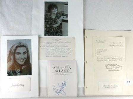 Warwick ARMSTRONG, Susie MARONEY, Kay COTTEE. Warw
