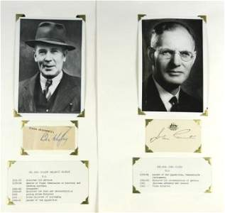 78: John CURTIN & Ben CHIFLEY - Australian Prime Minist