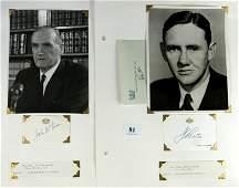 John GORTON & John McEWEN - Australian Prime Minist