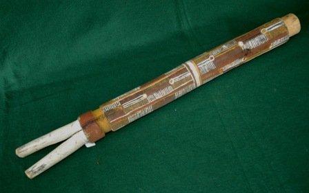 1695: Australian Aboriginal Burial Totem Pole (part) 68