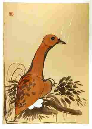 WHITELEY, Brett (1939-1992) The Dove, 1982. Please