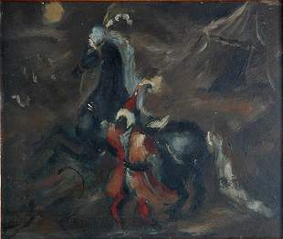 LYMBURNER, Francis (1916-1972) (Attrib.) Moor with