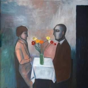 DICKERSON, Robert (b.1924) 'The Wedding Anniversary