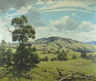 BARRON, Howard (1900-1991) Near Glendon Brook, NSW