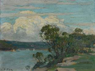 FOX, Emanuel Phillips (1865-1915) Harbour from Cre