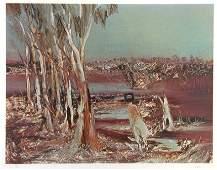 31: NOLAN, Sid (1917-1992) Kelly on Horseback. Riverbe