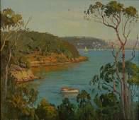 72: LANGKER, Erik (1898-1982) Quiet Bay, Sydney. Unsig
